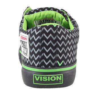 boty dámské VISION - Canvas Lo - Black/Lime