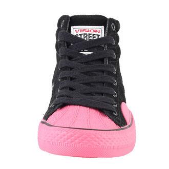 boty dámské VISION - Suede HI - Black/Pink, VISION