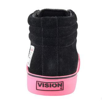 boty dámské VISION - Suede HI - Black/Pink - VWF3FWSH01