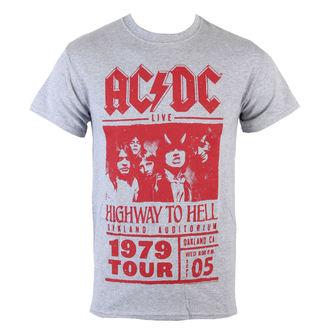 tričko pánské AC/DC - Red Highway Photo, LIVE NATION, AC-DC