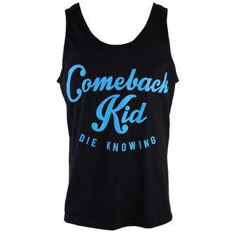 tílko pánské Comeback Kid - Script Blue - VICTORY, VICTORY RECORDS, Comeback Kid