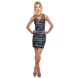 šaty dámské TOO FAST - Pentagram