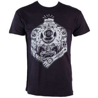 tričko pánské TOO FAST - Headless Sailor - Black