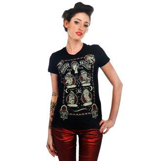 tričko dámské TOO FAST - Horror Nation - Black