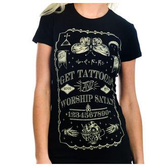 tričko dámské TOO FAST - Get Tattooed & Worship Sa, TOO FAST