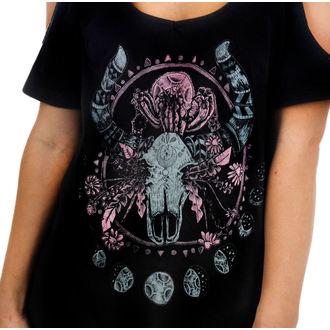 tričko dámské (top) TOO FAST - Cosmic Cow, TOO FAST