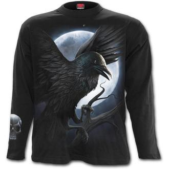 tričko pánské s dlouhým rukávem SPIRAL - Night Creature - Black