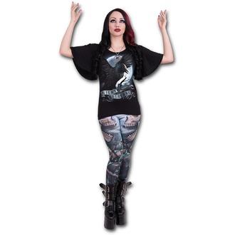 tričko dámské SPIRAL - Night Creature - Black