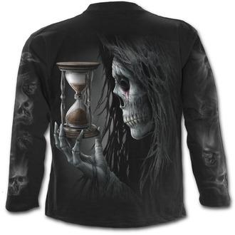 tričko pánské s dlouhým rukávem SPIRAL - Requiem - Black - T117M301
