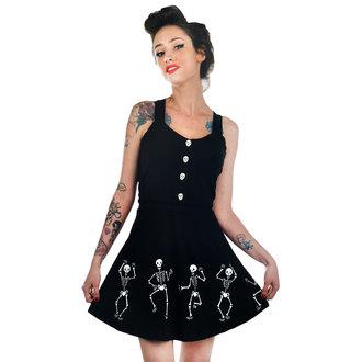 šaty dámské TOO FAST - Dancing Skeletons, TOO FAST
