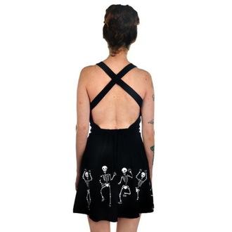 šaty dámské TOO FAST - Dancing Skeletons