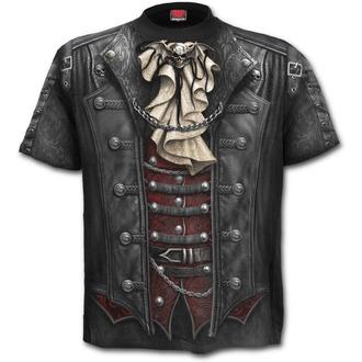 tričko pánské SPIRAL - Goth Wrap - Black - W025M105