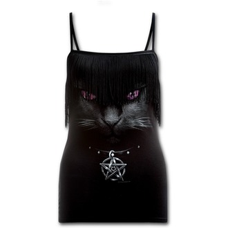 tílko dámské SPIRAL - Black Cat - Black