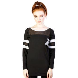 tričko dámské (tunika) DISTURBIA - Pyramid - Black, DISTURBIA