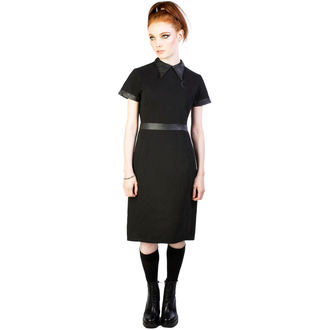 šaty dámské DISTURBIA - Temple - Black, DISTURBIA