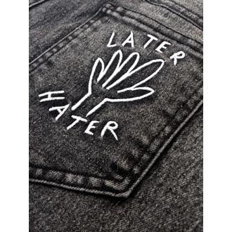 kalhoty dámské DISTURBIA - Hater - Black