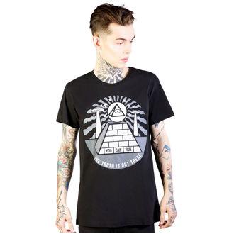 tričko pánské DISTURBIA - Pyramid - Black, DISTURBIA