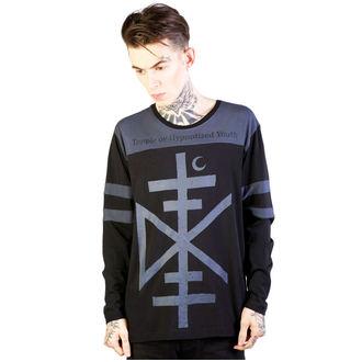 tričko pánské s dlouhým rukávem DISTURBIA - Temple - Black/Grey - DIS792