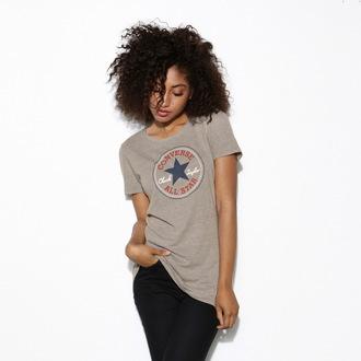 tričko dámské CONVERSE - AWT Core 2 - Grey - 12016C-035
