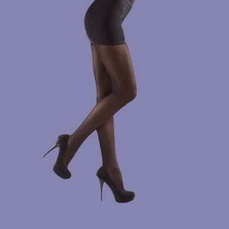 punčocháče LEGWEAR - 40 denier opaque - Black - SHOP4BBLK
