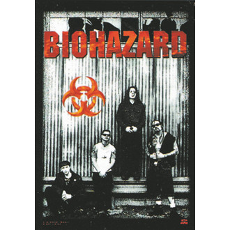 vlajka Biohazard - Band, HEART ROCK, Biohazard