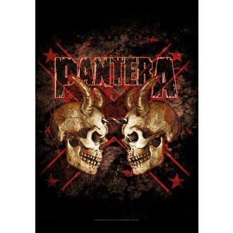 vlajka Pantera - Double Skull - HFL1092