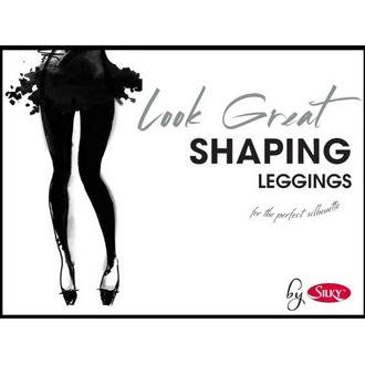 kalhoty dámské (legíny) LEGWEAR - Look Great Shaping - Black, LEGWEAR