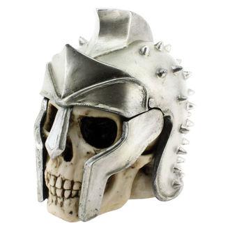 dekorace (krabička) Gladiator Skull - B1448D5