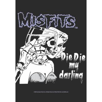 vlajka Misfits - Die Die My Darling