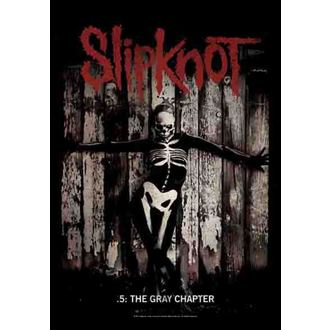 vlajka Slipknot - The Gray Chapter, HEART ROCK, Slipknot