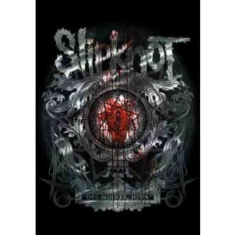 vlajka Slipknot - Des Moines, HEART ROCK, Slipknot