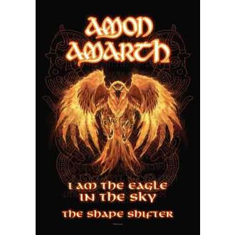 vlajka Amon Amarth - Burning Eagle, HEART ROCK, Amon Amarth