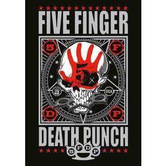 vlajka Five Finger Death Punch - Punchagram, HEART ROCK, Five Finger Death Punch