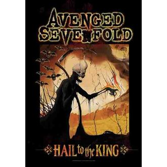 vlajka Avenged Sevenfold - Reaper, HEART ROCK, Avenged Sevenfold