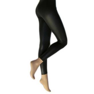 kalhoty dámské (legíny) LEGWEAR - Lather Look - Black, LEGWEAR