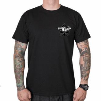 tričko pánské BLACK HEART - WIKI PIN UP - BLACK, BLACK HEART