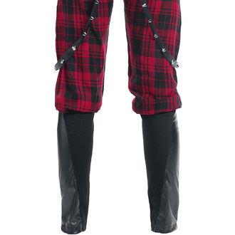 kalhoty dámské VIXXSIN - Grain - Red