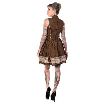 šaty dámské BANNED - Brown