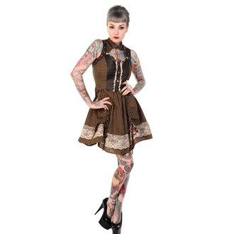 šaty dámské BANNED - Brown, BANNED