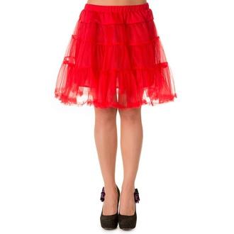 sukně dámská (spodnička) BANNED - Red - SBN202