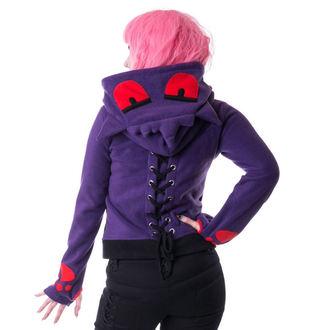 mikina dámská CUPCAKE CULT - Shadow - Purple/Black