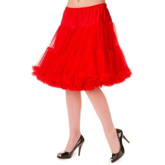 sukně dámská (spodnička) BANNED - Red - SBN234