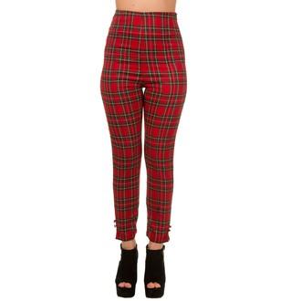 kalhoty dámské BANNED - Red