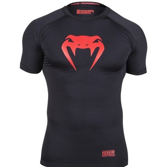 tričko pánské (termo) VENUM - Contender Compression - Red Devil - EU-VENUM-1088