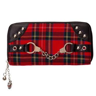 peněženka BANNED - Red/Tartan, BANNED