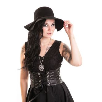 klobouk dámský POIZEN INDUSTRIES - Vintage - Black, POIZEN INDUSTRIES