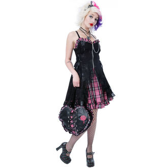 šaty dámské DEAD THREADS - Pink - DC8836