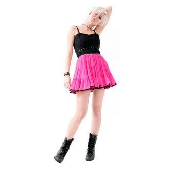 šaty dámské DEAD THREADS - Pink