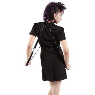 šaty dámské DEAD THREADS - Black, DEAD THREADS