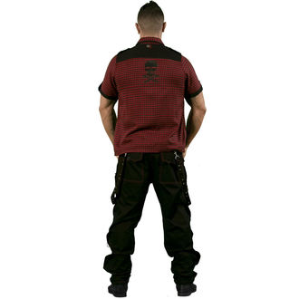 košile pánská DEAD THREADS - Red